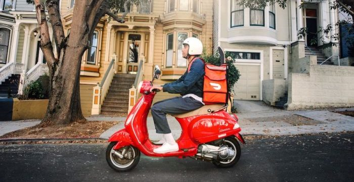 How to Become a DoorDash Driver - scooter